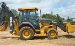 Rubber Tire Backhoe